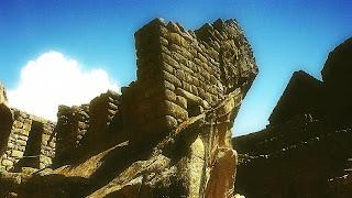 Templo do Condor, em Machu Picchu