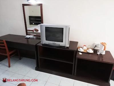 Kelengkapan Dalam Bilik Resort