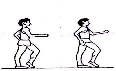 Latihan mata kaki (angkling drill) Lari Cepat