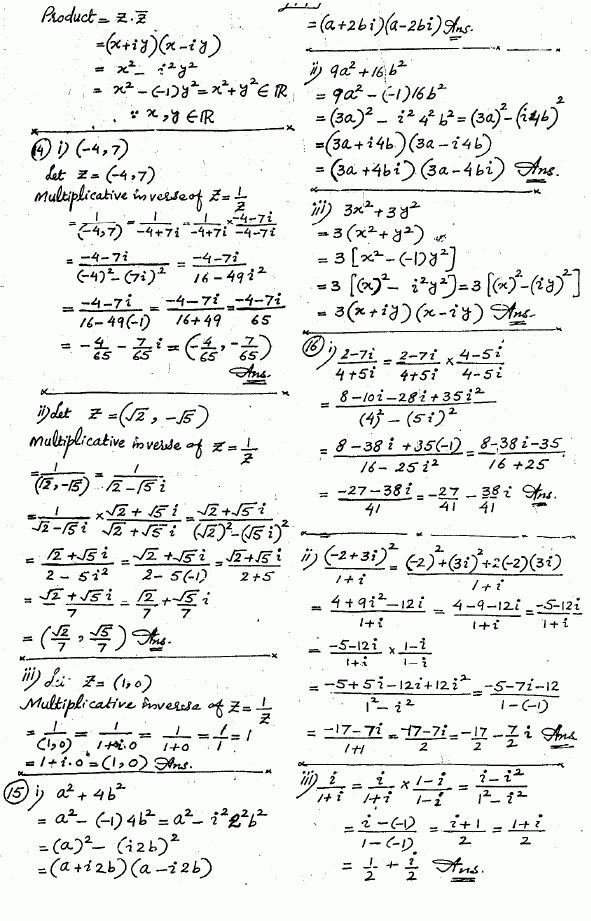 Exercise 1.2 Mathematics Fsc Part 1 First Year solved free