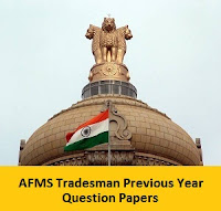 AFMS Tradesman Previous Year Question Papers