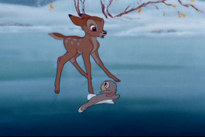 Physics is fun - Bambi on ice images ...