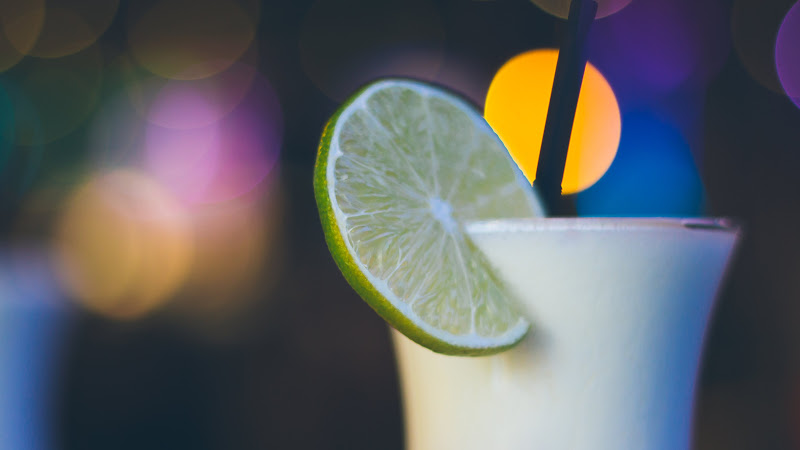 Exotic Cocktail with Lime HD