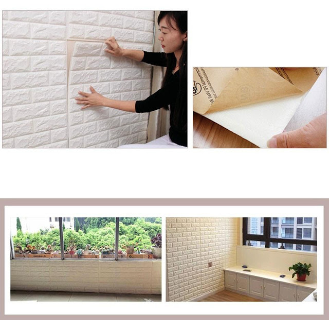 DIY Self-Adhesive 3D Foam Wall Transformation Stickers