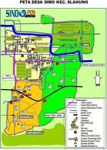 Profil Desa & Kelurahan, Desa Simo Kecamatan Slahung Kabupaten Ponorogo