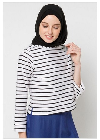 Baju Muslim Terbaru dan Terkini  Referensi Model Baju Muslim Atasan ... f910cf8cff