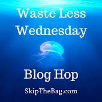 Blog Hop Zero waste plastic free less waste sustainable