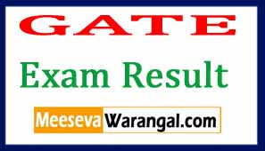 GATE 2017 EXAM Results