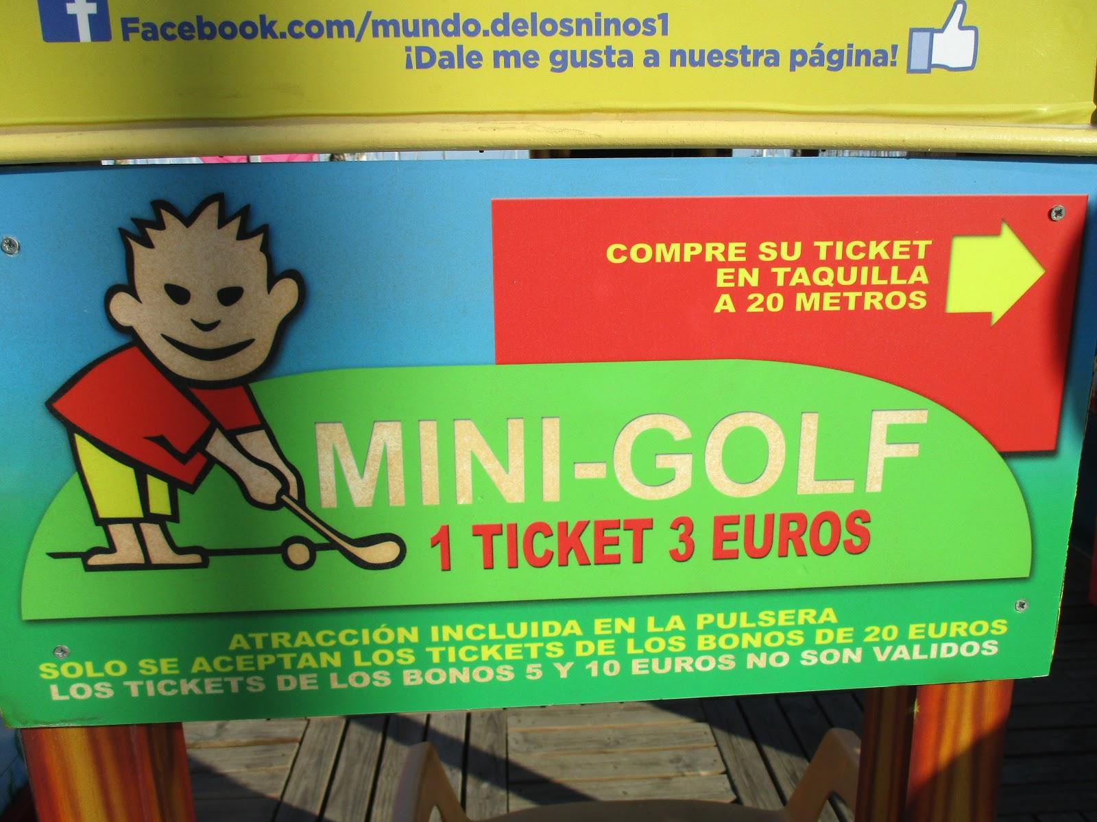 Two Crazy Golfers: Crazy golf in Alicante, Costa Blanca, Spain on tractor supply windmill, crazy golf windmill, illustration mini golf windmill, putt-putt golf windmill, miniature windmill already assembled, bangkok golf windmill,