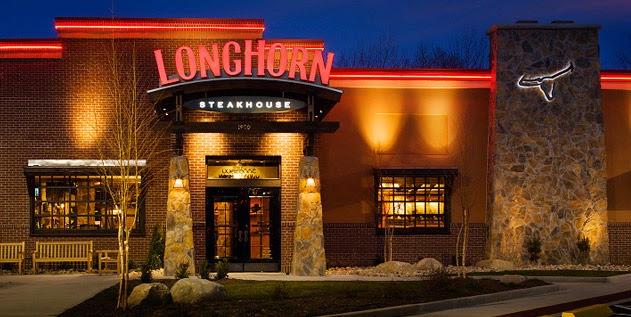 Are Longhorn Steakhouse Restaurants Open Thanksgiving Day
