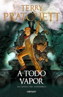 A todo vapor de Terry Pratchett