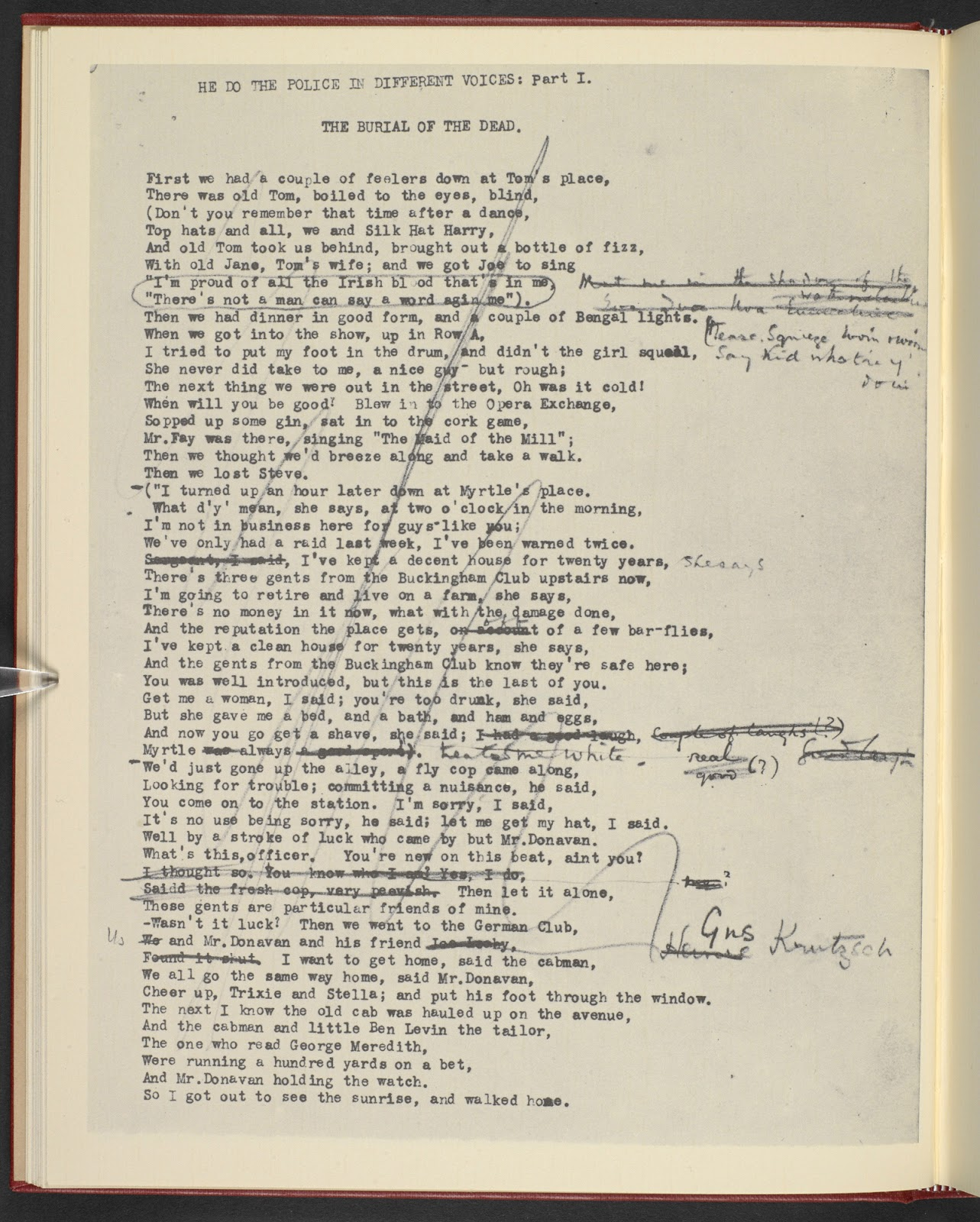 t.s. eliots the waste land essay Ts eliot's the waste land:  it is such a misrepresentation of the waste land as this which allows edmund walton to entitle an essay on contemporary poetry,.