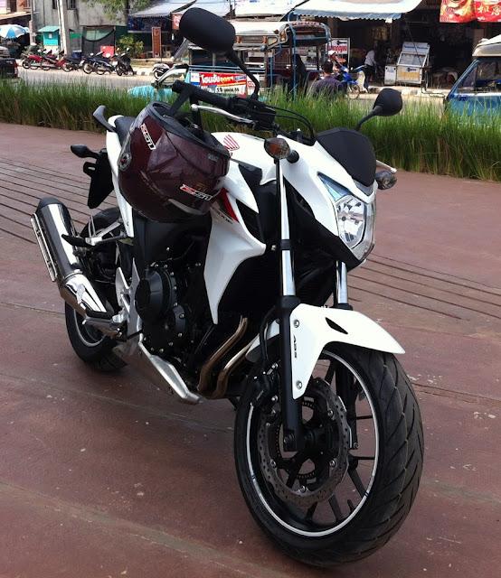 Broken Honda CB500F