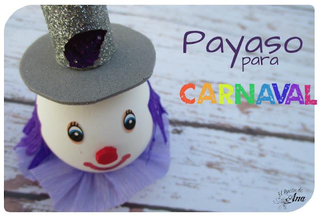 Payaso para carnaval