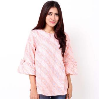 Contoh Blus Batik Yang Modis Dan Trendi