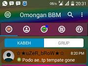 Download BBM MOD Disco v3.3.1.24 Unclone Terbaru Gratis 2017