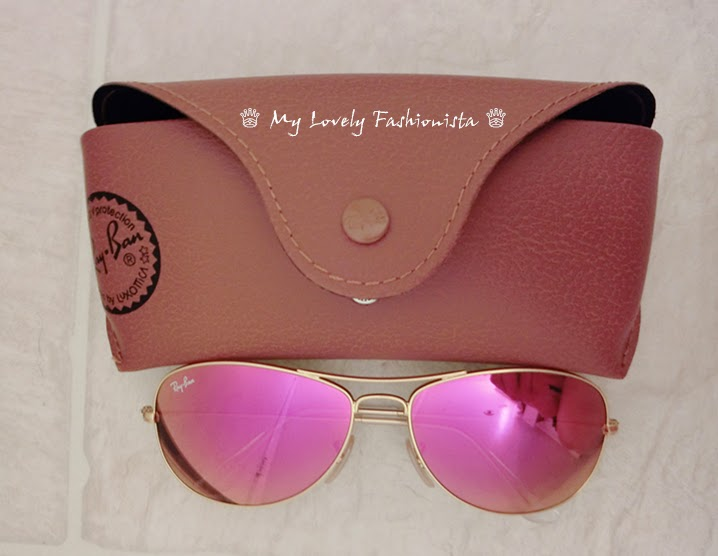e39b02bb2222ad Ray-Ban  New Classic  59mm Aviator Sunglasses, Gold  Red Mirror ...