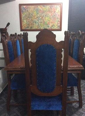 REF 003 Mesa com oito cadeiras R$5.000,00