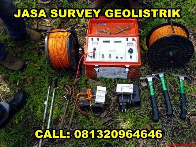 alat geolistrik untuk jasa survey geolistrik