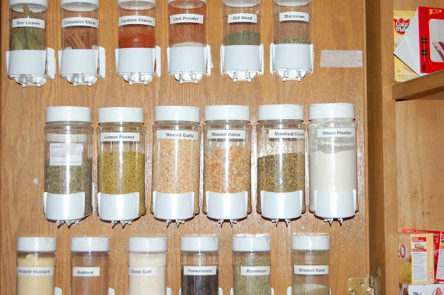 Utilize Backs Of Doors | Creative Canned Food Storage Ideas