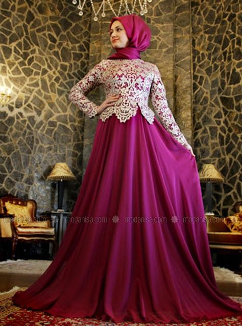 Model Gaun Muslim Mewah Untuk Pesta Terbaru