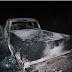 Camioneta en la que habrían secuestrado a empresario de SanAndrésTuxtla es hallada calcinada