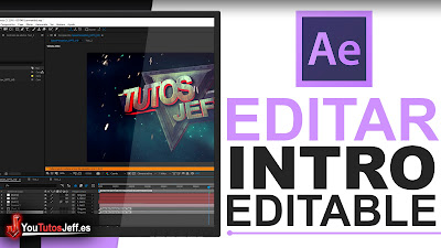 editar intro template con after effects