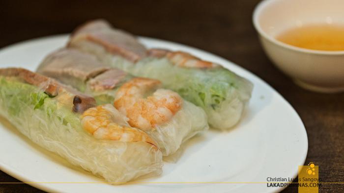 Rene's Saigon Restaurant Palawan Fresh Spring Rolls