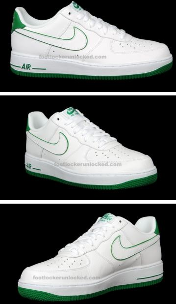 official photos 6d193 21968 Here is images via F.L of the Nike Air Force 1 Low  St. Patrick s Day   Sneaker, definitely a fresh pair of kicks for St Pattys day!