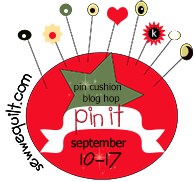 PIN IT  Pin Cushion blog hop