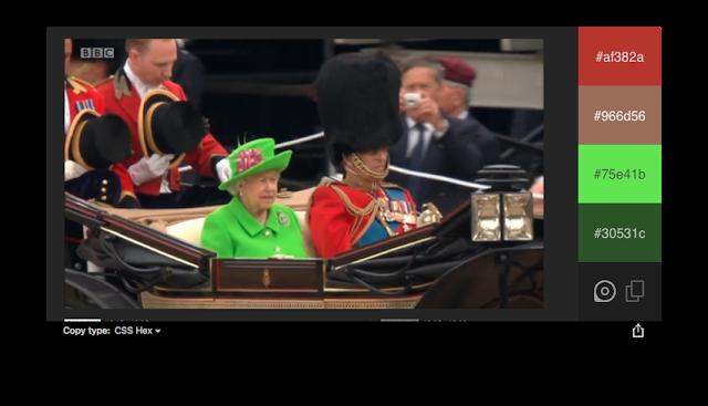 Du fluo pour la reine