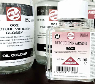 jenis varnish retouching