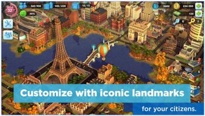 SimCity Buildit Mod Apk Terbaru