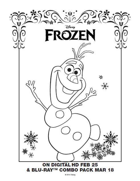 One Savvy Mom NYC Area Mom Blog Disney Frozen Free Printable