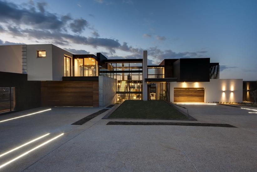 Impressive Contemporary Home Plans 4 Design Home Modern: World Of Architecture: Impressive House Boz By Nico Van