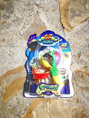 set de poeeng, juguete de Bandai