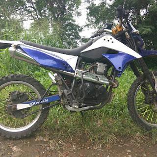 Bukalapak Motor Bekas : Yamaha scorpio Trail Modif