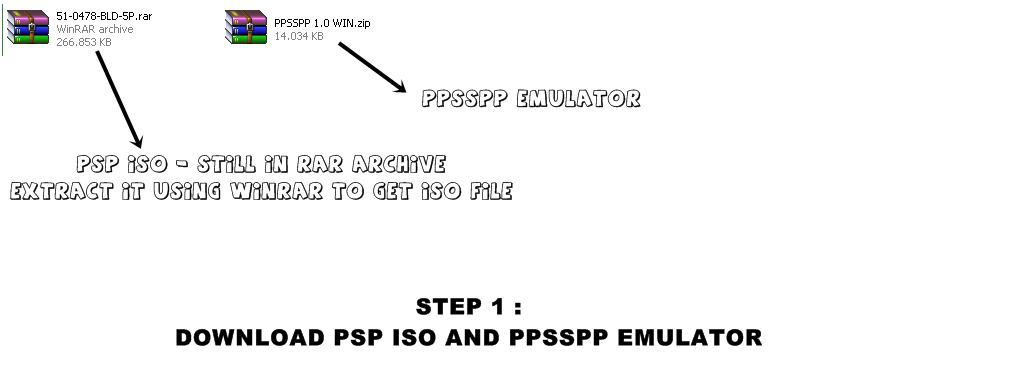 download game ppsspp black file iso