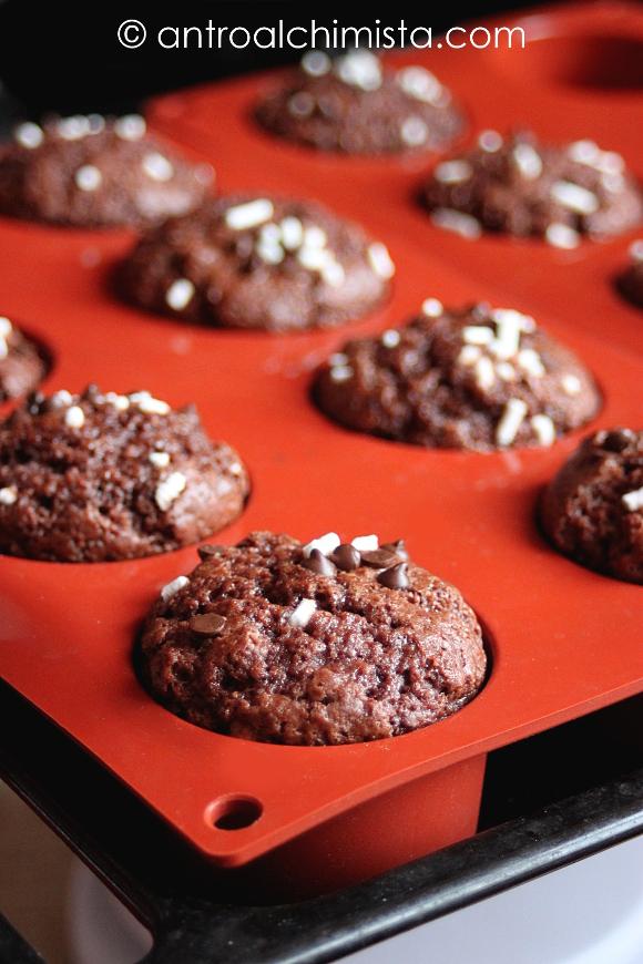 Muffins al Cacao e Cannella