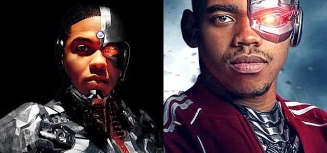 Ray Fisher apoia a estrela de 'Doom Patrol', Jovian Wade, como Ciborgue