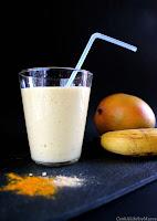 http://cookalifebymaevaen.blogspot.com/2016/01/banana-mango-ginger-turmeric-smoothie.html