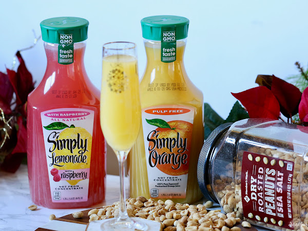 Host a Brunch with a Classic Mimosa Recipe ~ #SimplyHolidaysAtSams