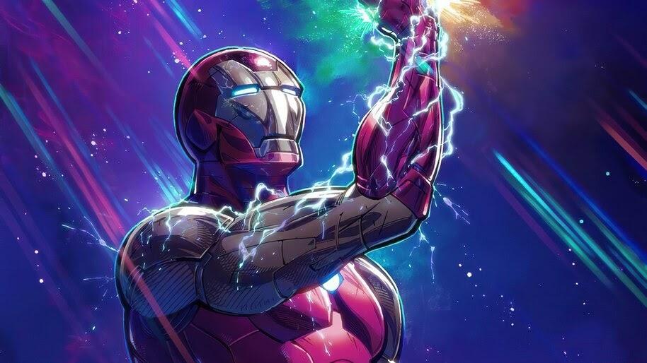 Iron Man, Infinity Gauntlet, Art, 4K, #6.2094