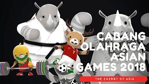 42 Kosakata Nama Cabang Olahraga ASIAN Games 2018 Dalam Bahasa Inggris - Daily English Vocabulary #74