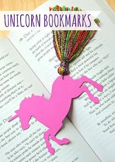unicorn kitap ayracı