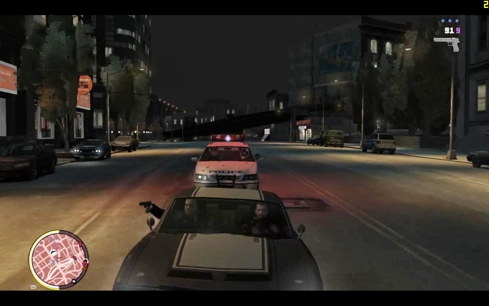 شرح مود تحويل لعبة GTA IV إلى GTA V كاملة برابط واحد على ميديافاير