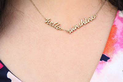 Kate Spade Say Yes Hello Sunshine Necklace