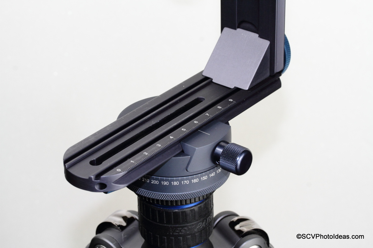 Novoflex Panorama=Q 6/8 II with VR System-Slim base rail clamped