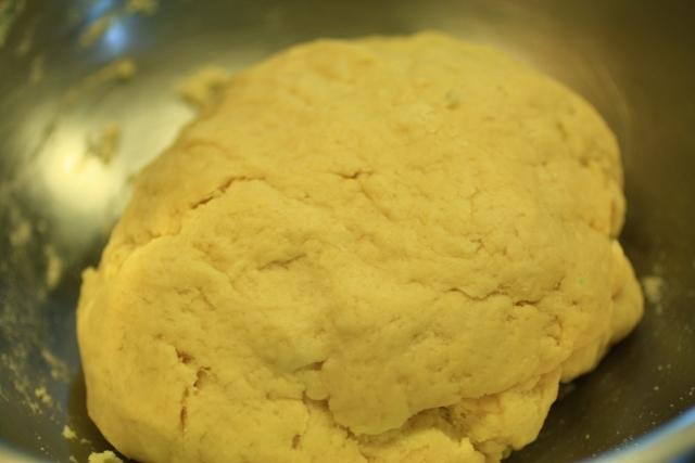 masa de rollo de queso picante