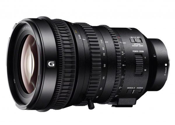 Sony 18-110mm f/4 с моторизованным зумом